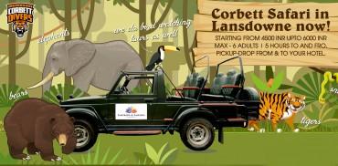 Corbett Jungle Safari in Lansdowne